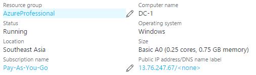 Azure – RDP from Linux box to Azure Virtual Machine (Windows